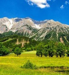 dachstein-gletsjer-oostenrijk