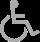 Kamer voor rolstoelgebruik