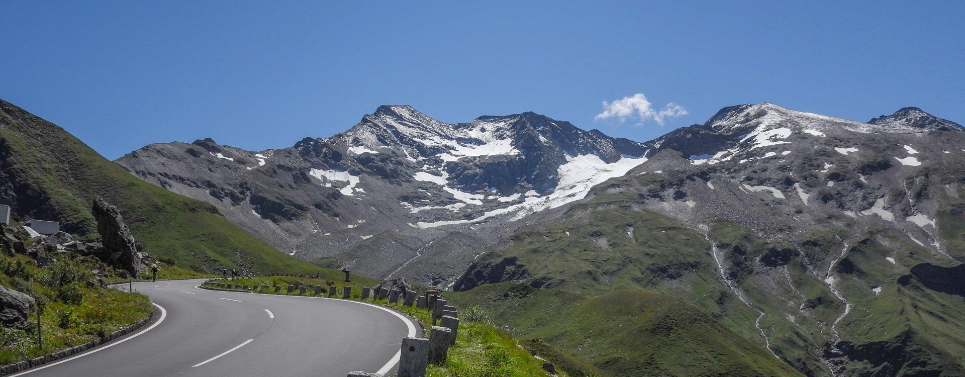 Grossglockner Hochalpenstrasse in Salzburgerland
