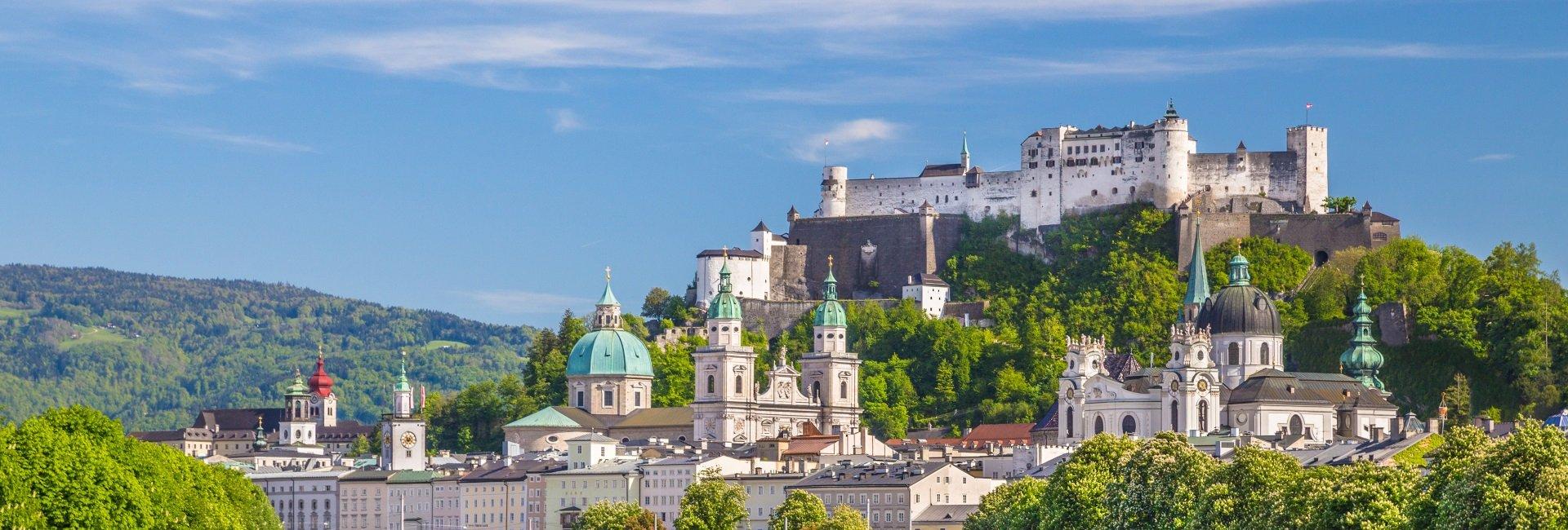 Salzburg-oostenrijk-hoofdstad